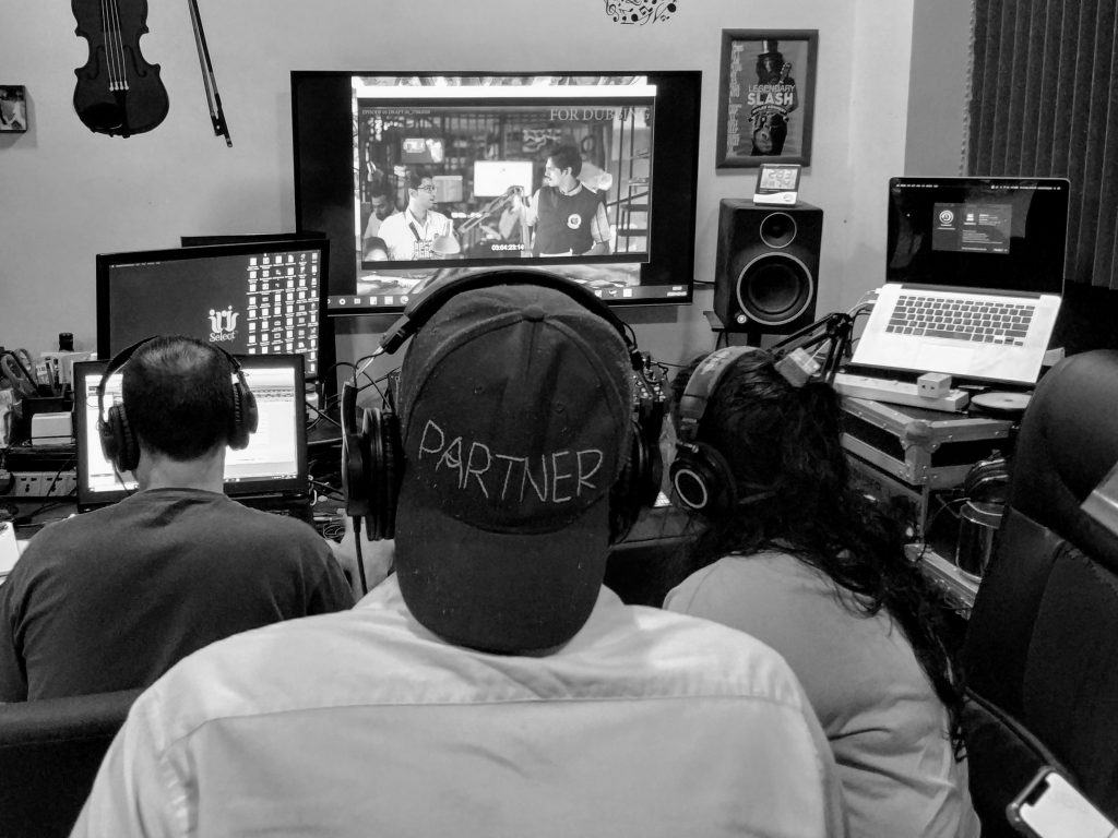 dubbing studio goa